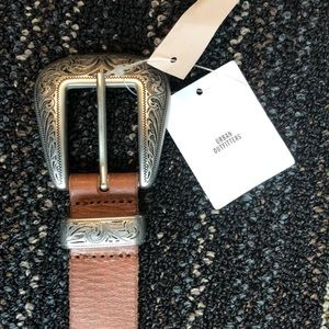 Urban Outfitters Classic Brown Belt